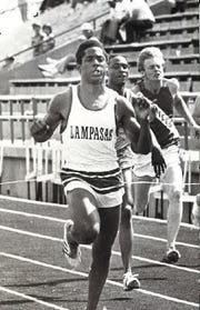 Lam Jones was an Olympic gold medalist, Texas track legend and NFL receiver.