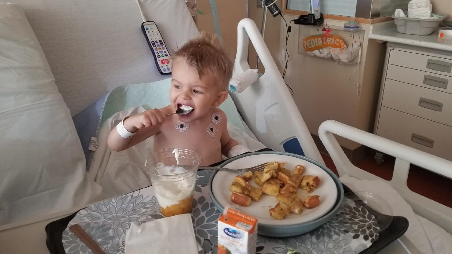 Doctors removed 7 pieces of popcorn from her son's lungs. Now this mom has a message.