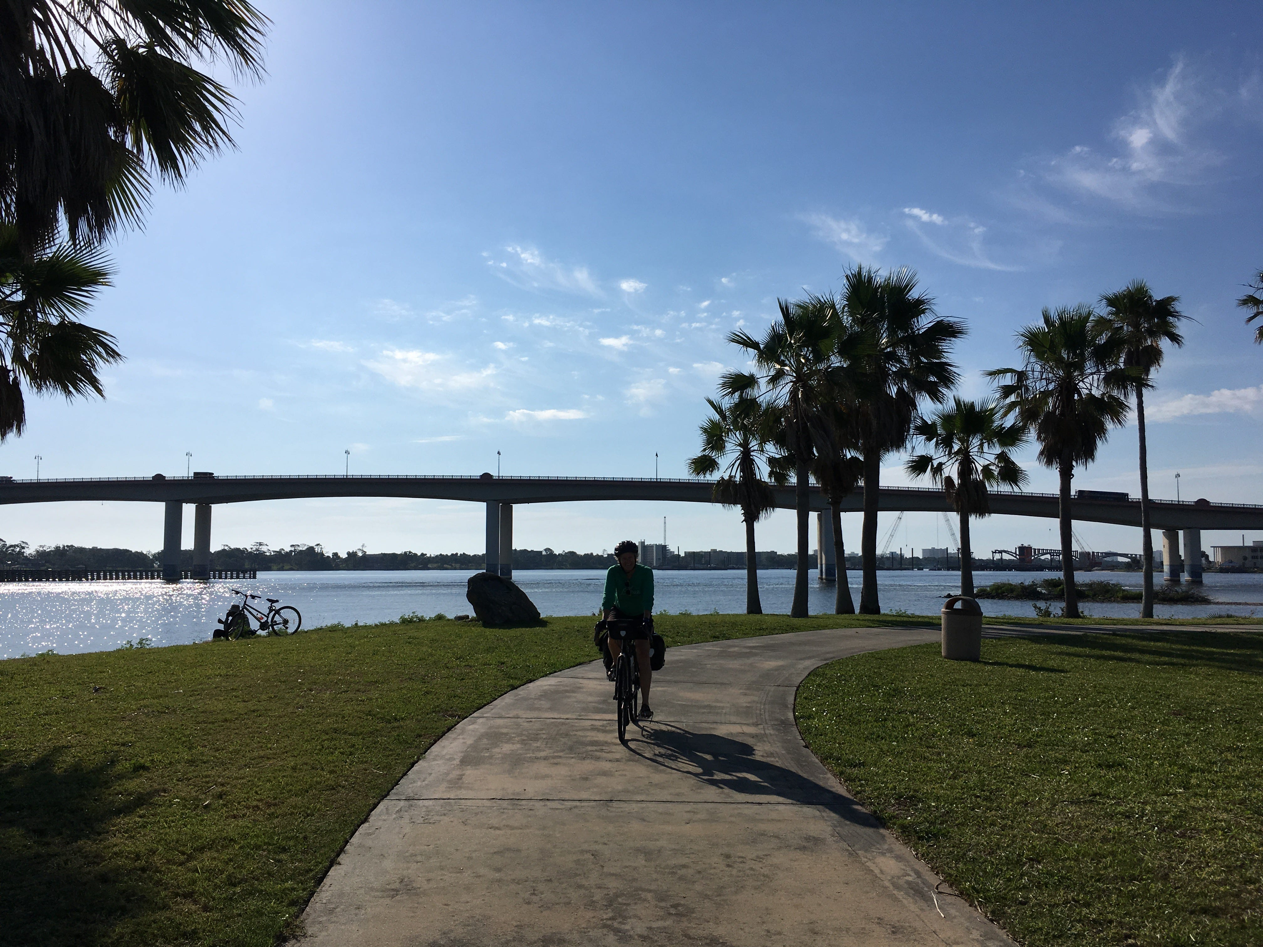The Sweetheart Trail in Daytona Beach, Florida.