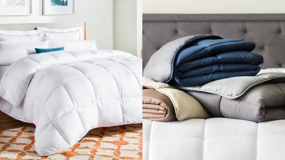 NOthing's as comfy as a new comforter.