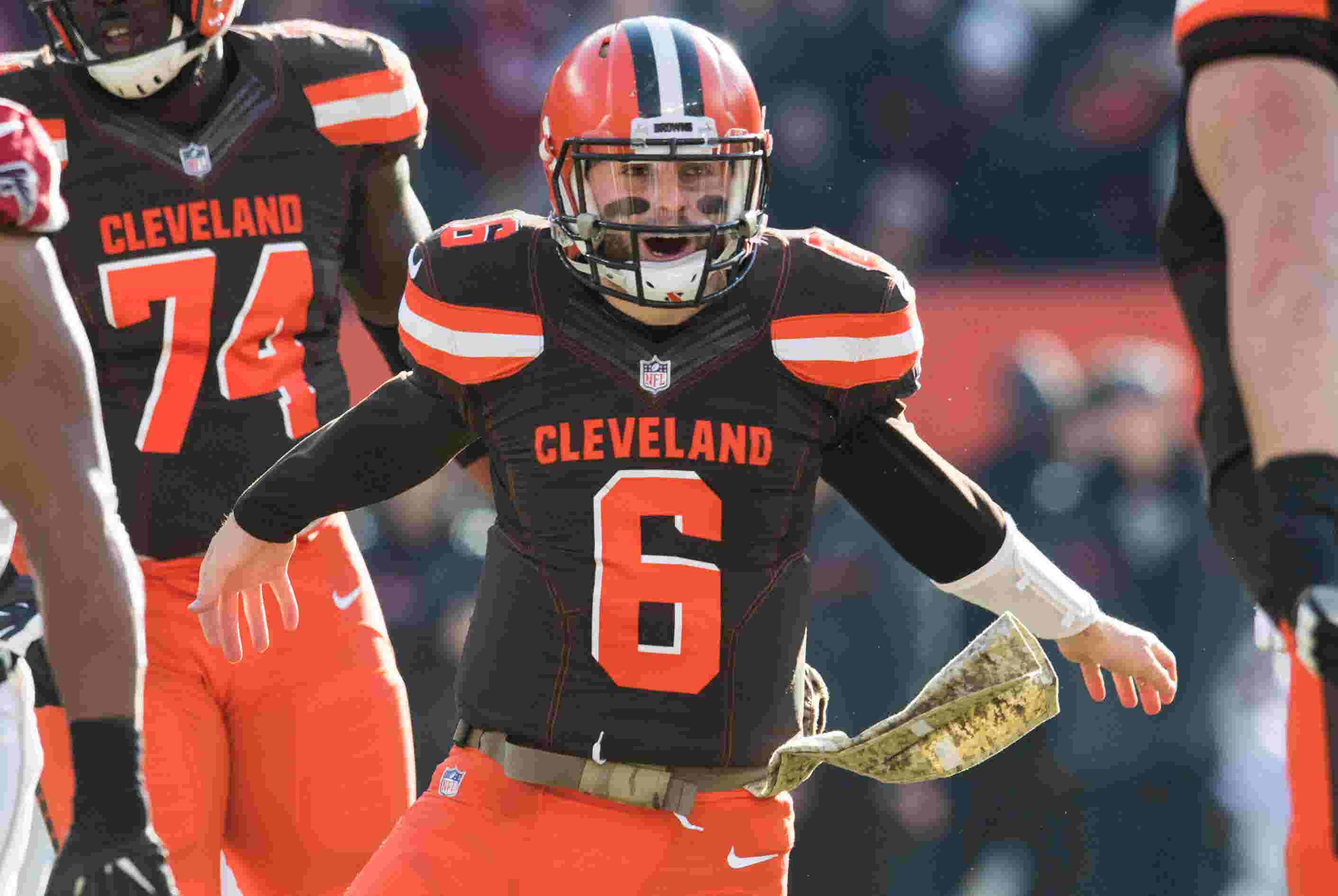 Brewers get a visit from Cleveland Browns quarterback Baker Mayfield bac4f9a5a