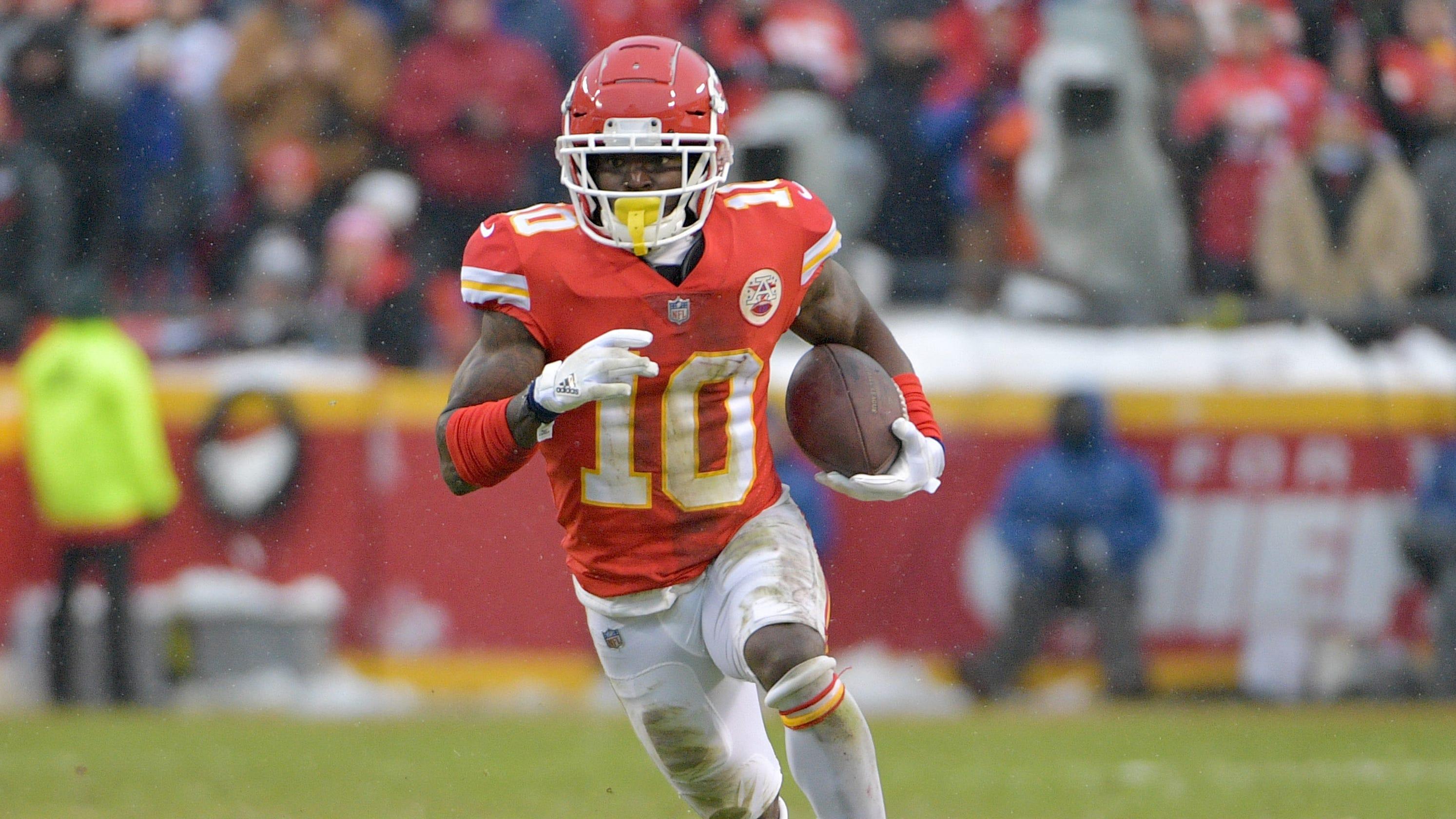 Chiefs WR Tyreek Hill linked to investigation regarding alleged battery 8459dbe3e