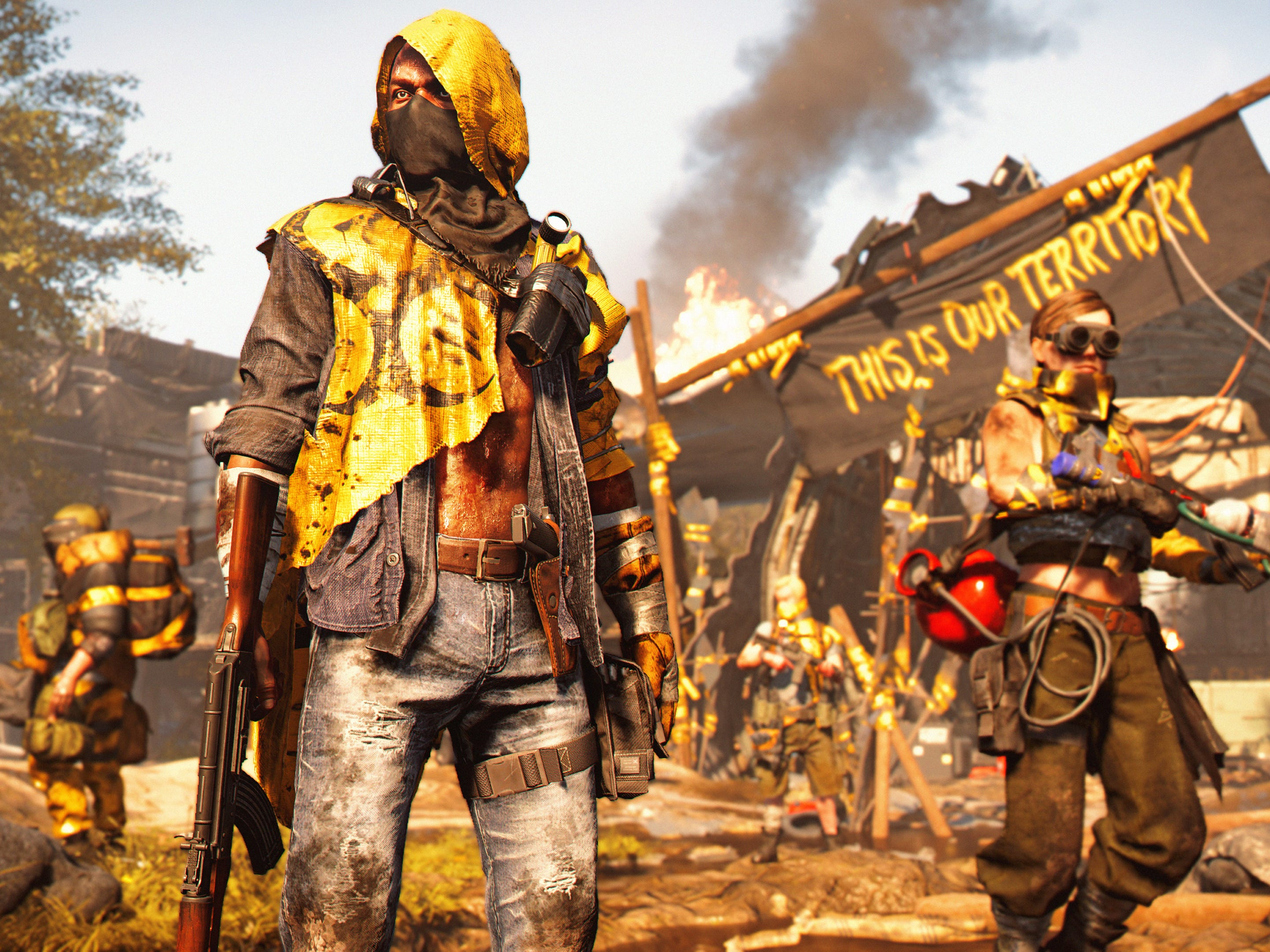 A screenshot from the video game 'Tom Clancy's The Division 2.'