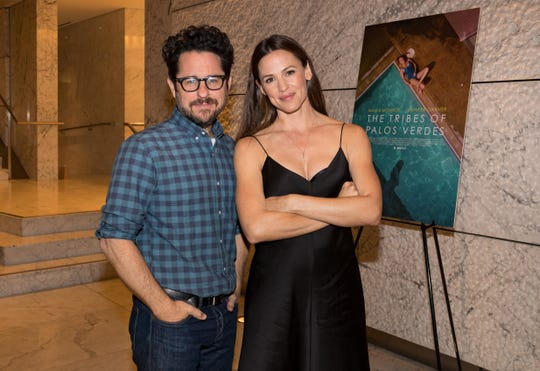 "J.J. Abrams and Jennifer Garner attend a screening of ""The Tribes Of Palos Verdes"" in 2017."