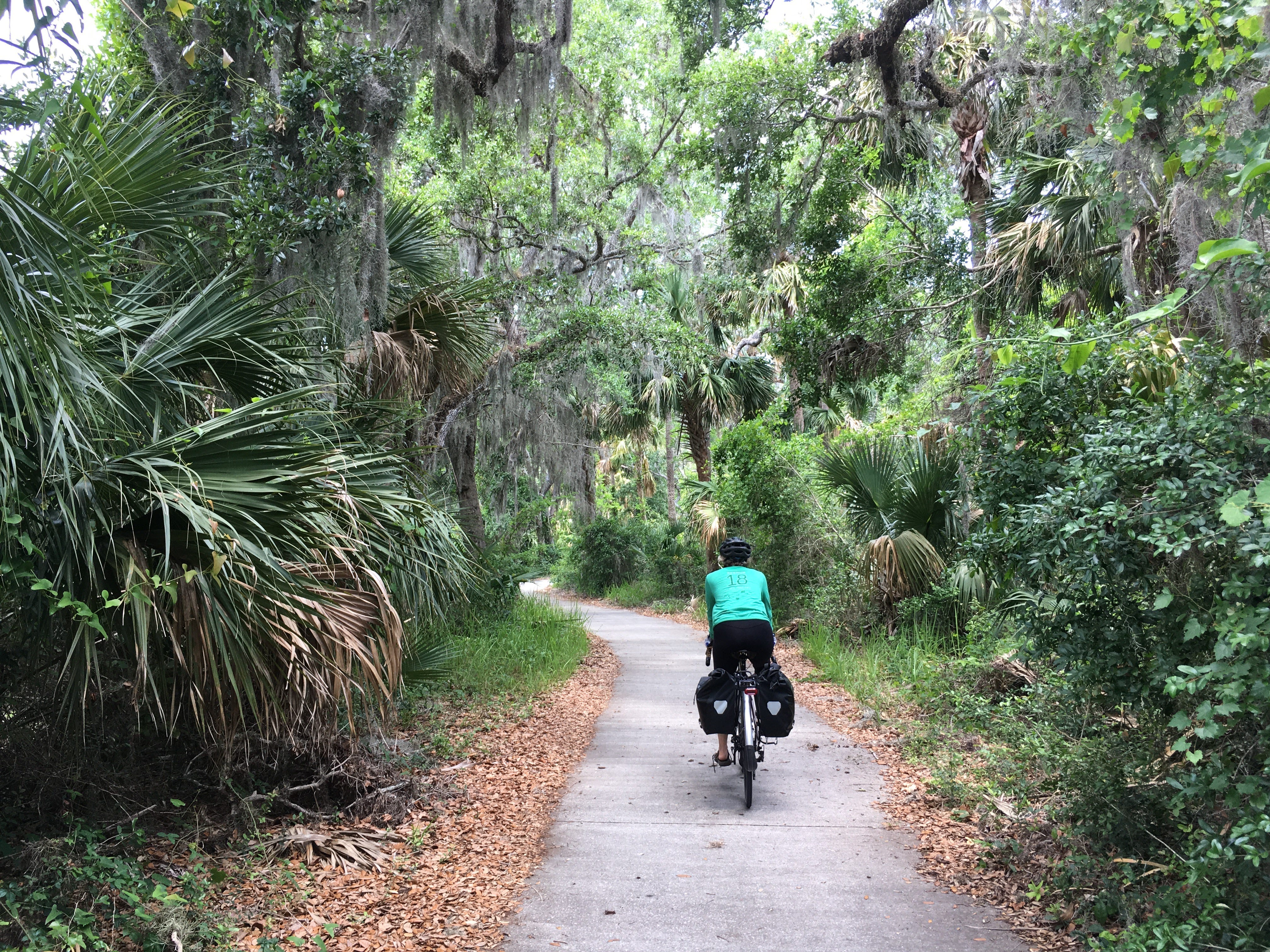 The East Coast Greenway in Florida.