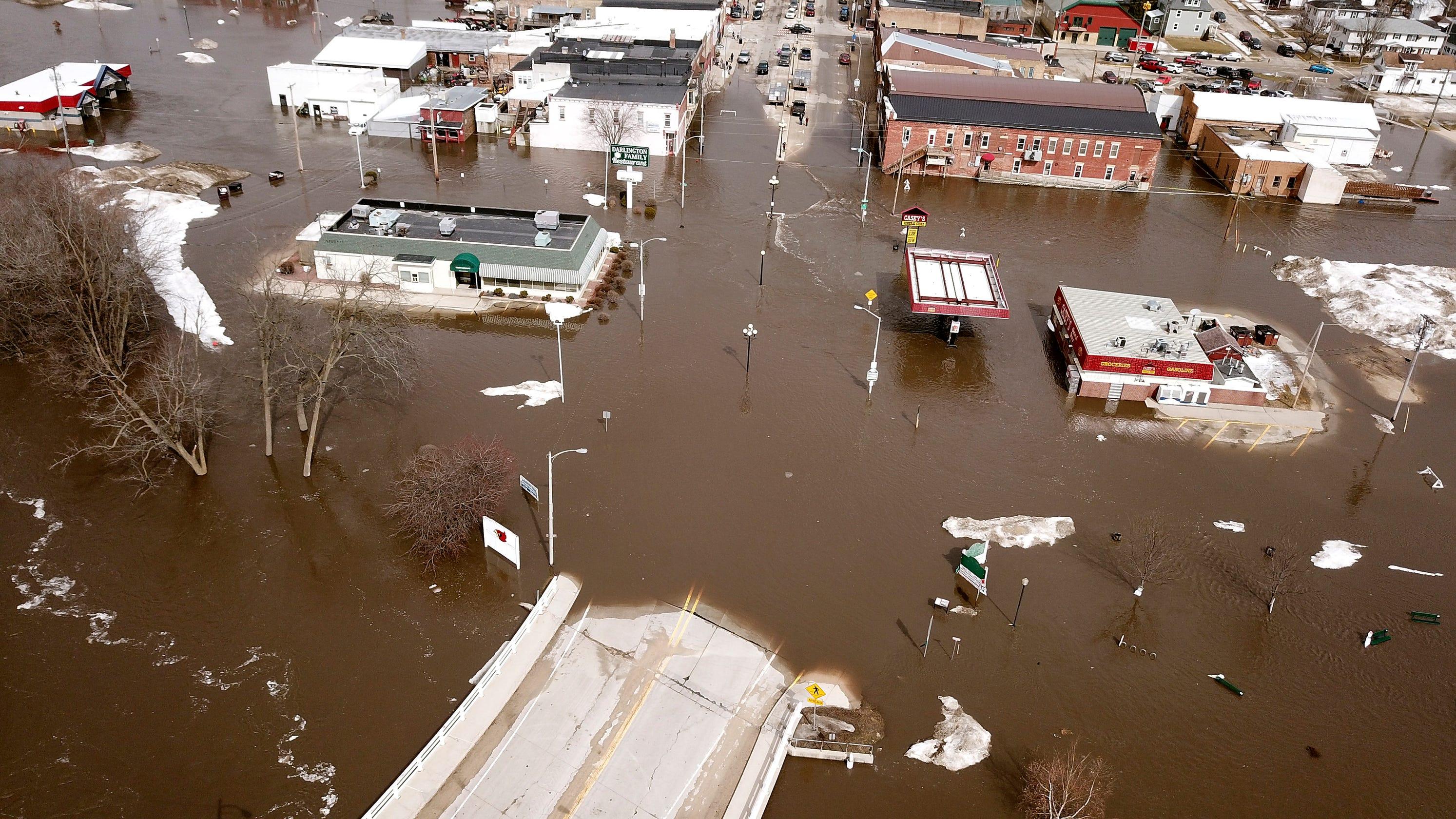 Weather forecast on Midwest floods: Heavy rain, snowmelt
