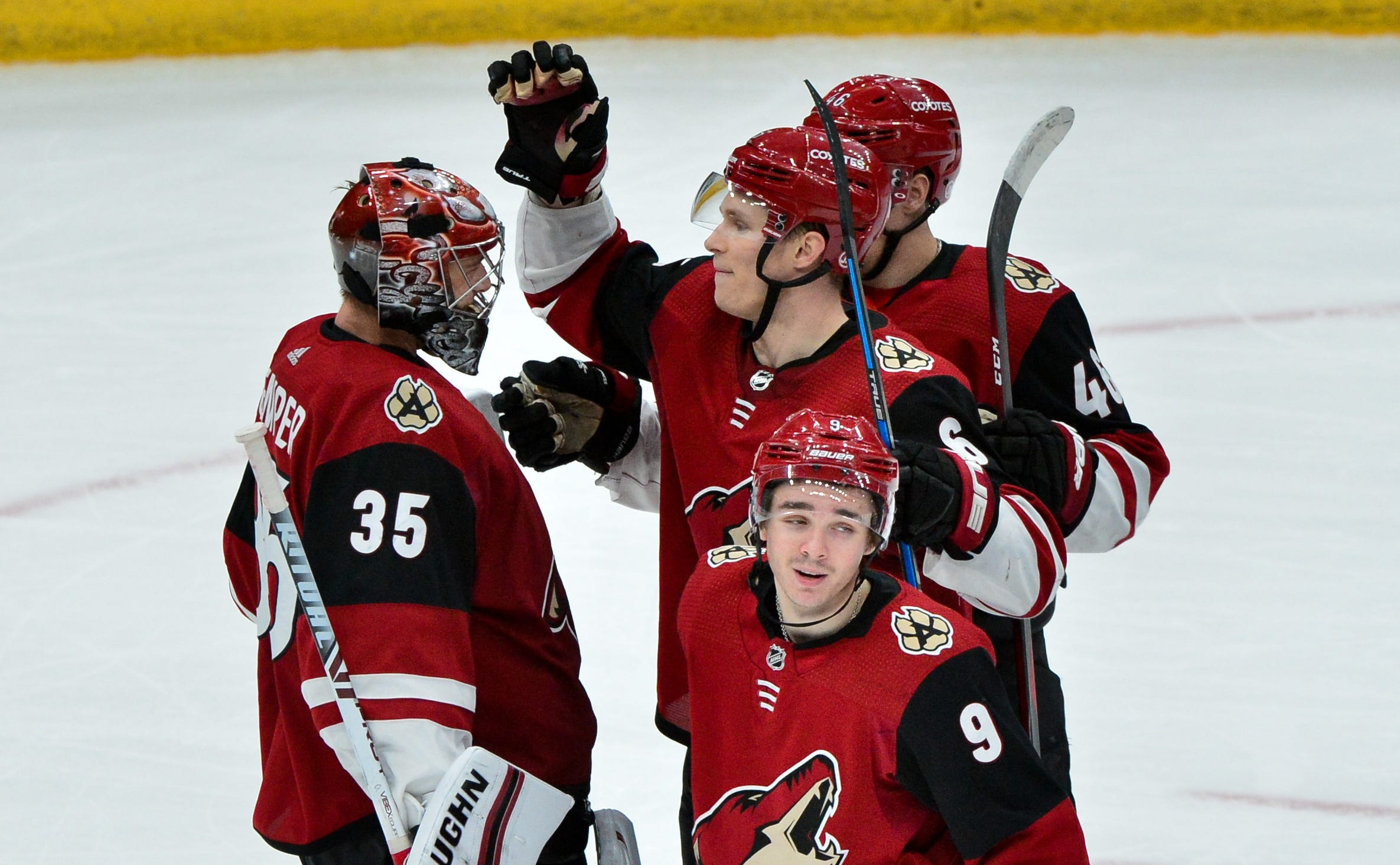 "Arizona Coyotes goaltender Darcy Kuemper and company have been ""scratching and clawing"" their way into a playoff position."