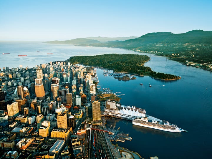 Canada offers families an easy introduction to international travel, with the beauty of Vancouver on the West Coast, and the French influences in Montreal in the east.