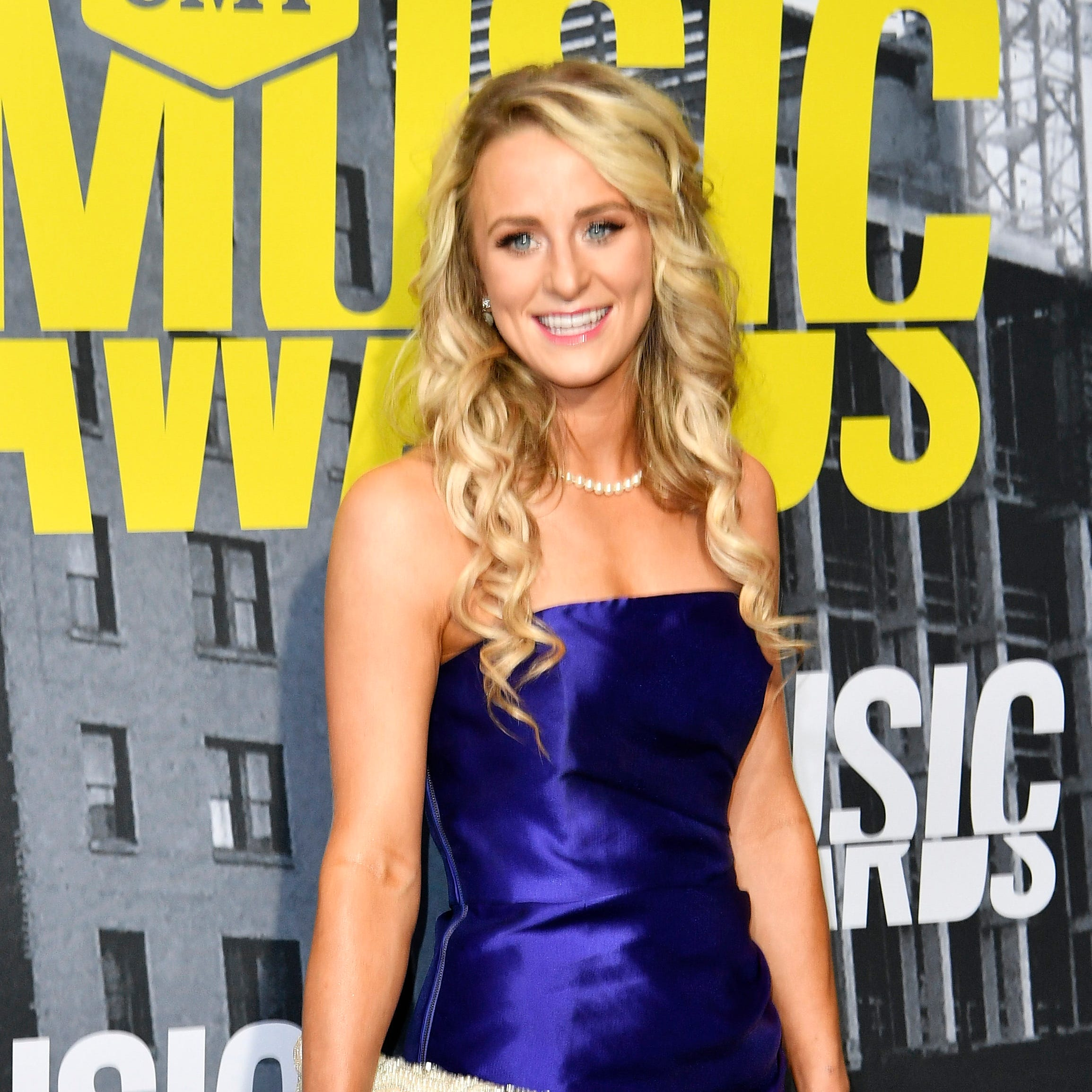 """Teen Mom"" star Leah Messer, seen here at the 2017 CMT Music Awards in Nashville, is watching over daughter Adalynn in the hospital."
