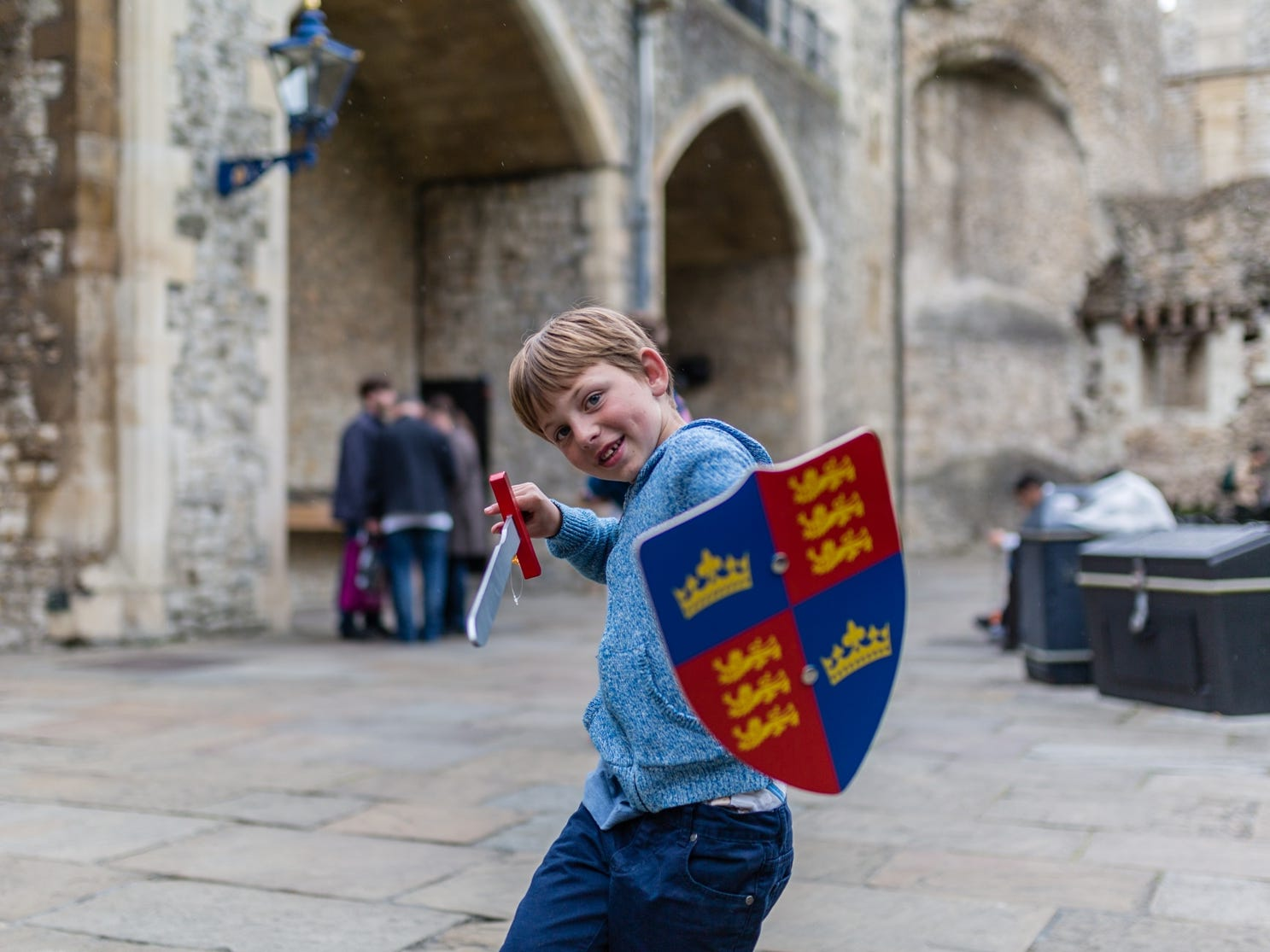 The United Kingdom is packed with child-friendly sites and makes an ideal place for kids to get their first passport stamp.