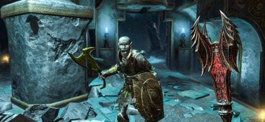 'The Elder Scrolls: Blades' is a new action role-playing game coming to Apple's iPhone.