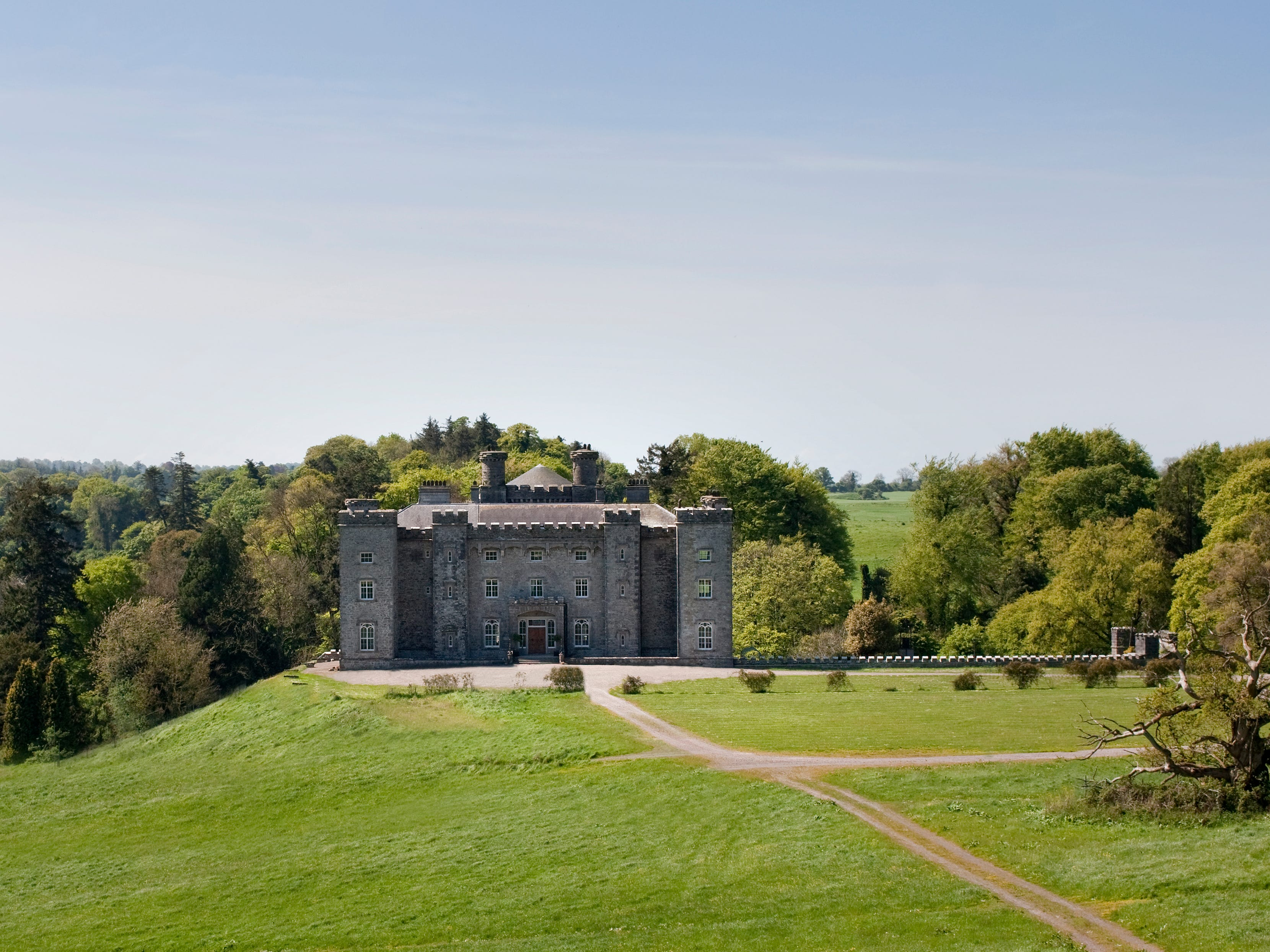 "Slane Castle is the home of Slane Irish Whiskey, which began distillation in late 2017. The castle and distillery are located 30 miles north of Dublin. ""Not many people get to see a dream realized and I'm lucky enough to have witnessed this happen with the opening of Slane Distillery,"" says co-founder Alex Conyngham."