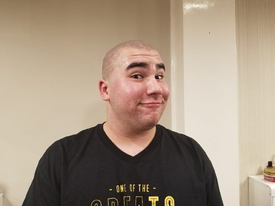 Jacob Gerbman after the shave