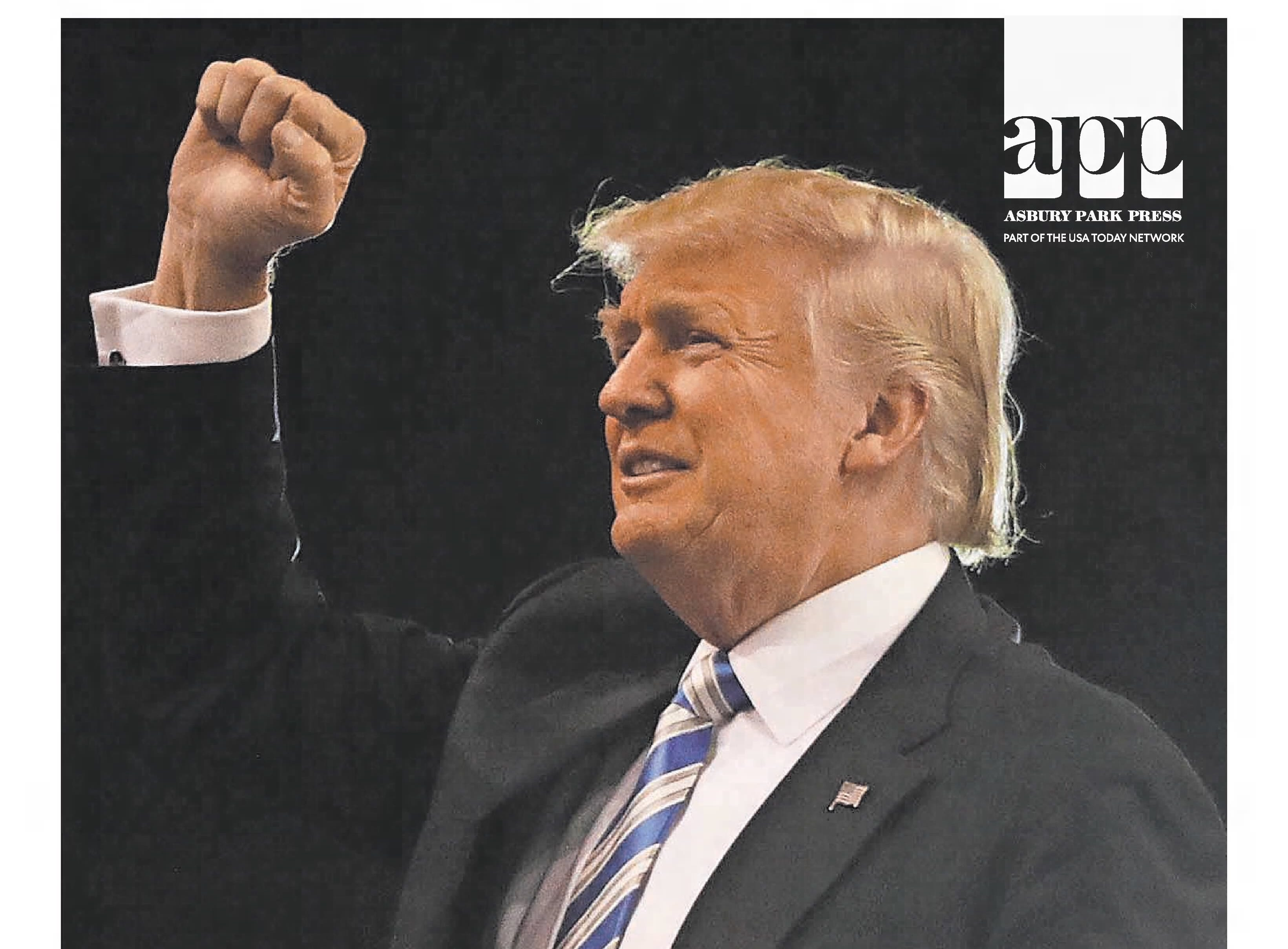 In the biggest upset since the 1948 election, Donald Trump defies all expectations and is elected the 45th president of the United States in this edition from Wednesday, Nov. 9, 2016.