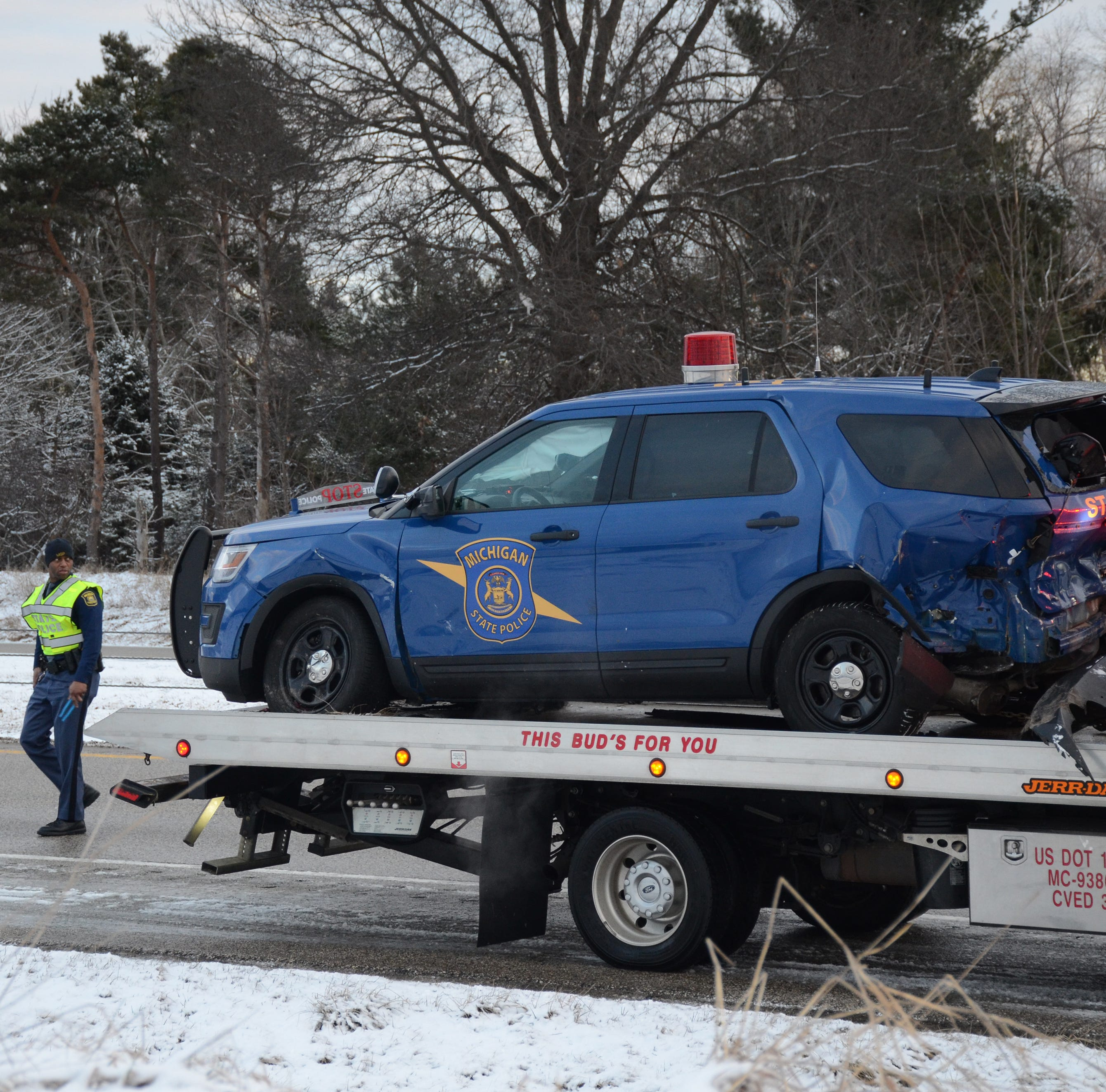 Police & Fire: Trooper injured in highway crash