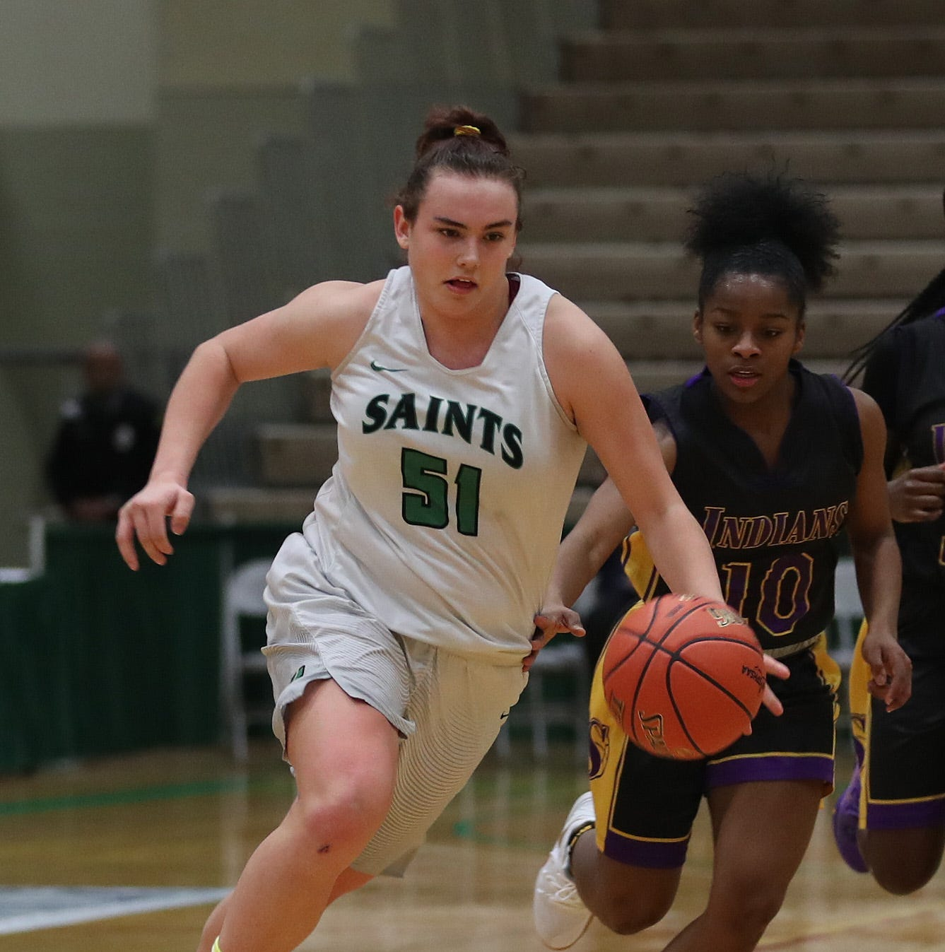 Girls Basketball: Seton Catholic Central's Hauer named co-Class A state Player of the Year