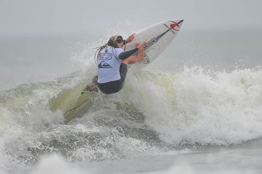 Cocoa Beach's William Hedleston i ntop form Saturday in Cocoa Beach.