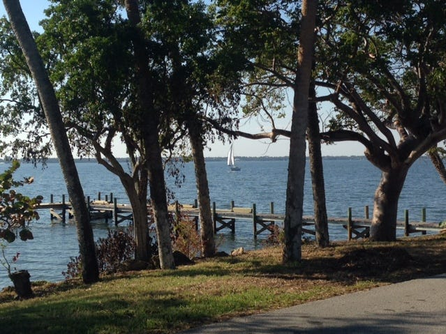 Scenic view from Tropical Trail on Merritt Island.