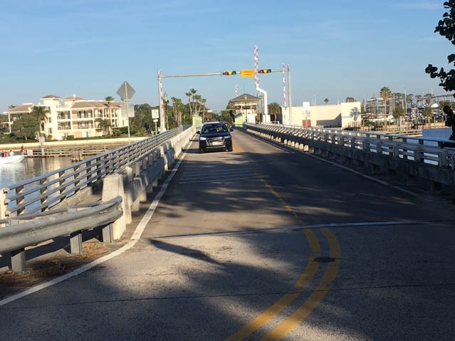 Mathers Bridge is on the south end of Tropical Trail on Merritt Island.