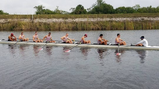 FIT's rowing team.