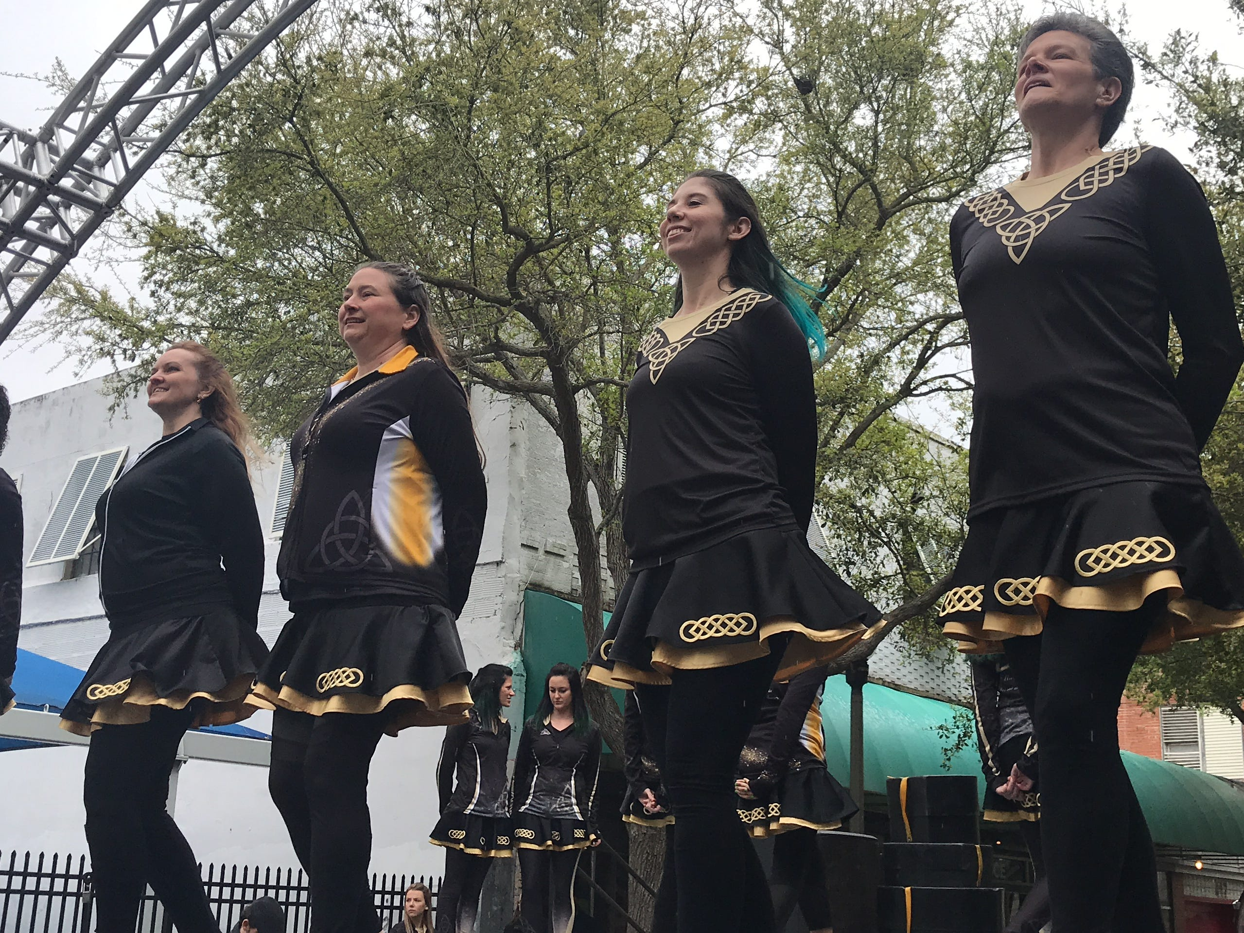 The Gildea School of Irish Dance performed at the 8th annual St. Paddy's Day Festival in downtown Corpus Christi Saturday, March 16, 2019.