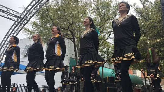 The Gildea School of Irish Dance performed at the eighth annual St. Paddy's Day Festival in downtown Corpus Christi Saturday, March 16, 2019.