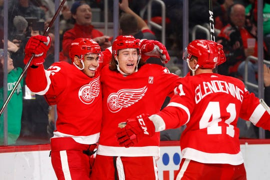 There aren't likely to be many more victory celebrations for the Red Wings this season.