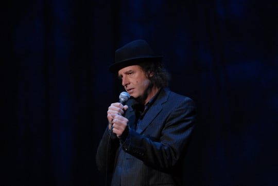 "Steven Wright got his big comedy break after an early-1980s appearance on ""The Tonight Show Starring Johnny Carson."""