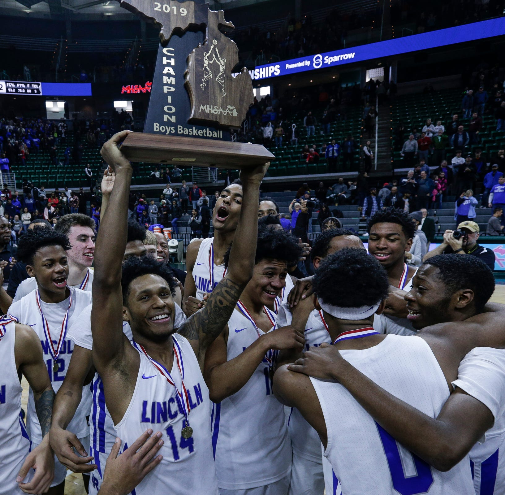 Ypslianti Lincoln beats U-D Jesuit on buzzer beater to win MHSAA state title