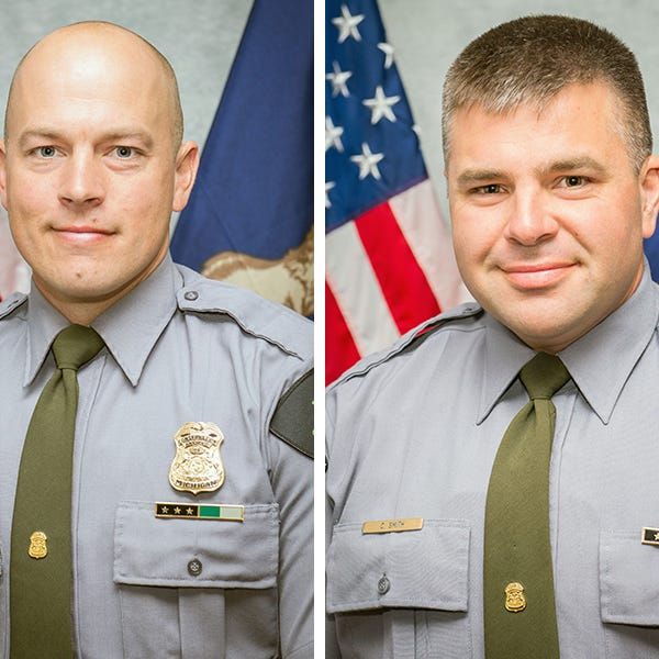 These are the DNR officers who tracked down suspected U.P. kidnappers