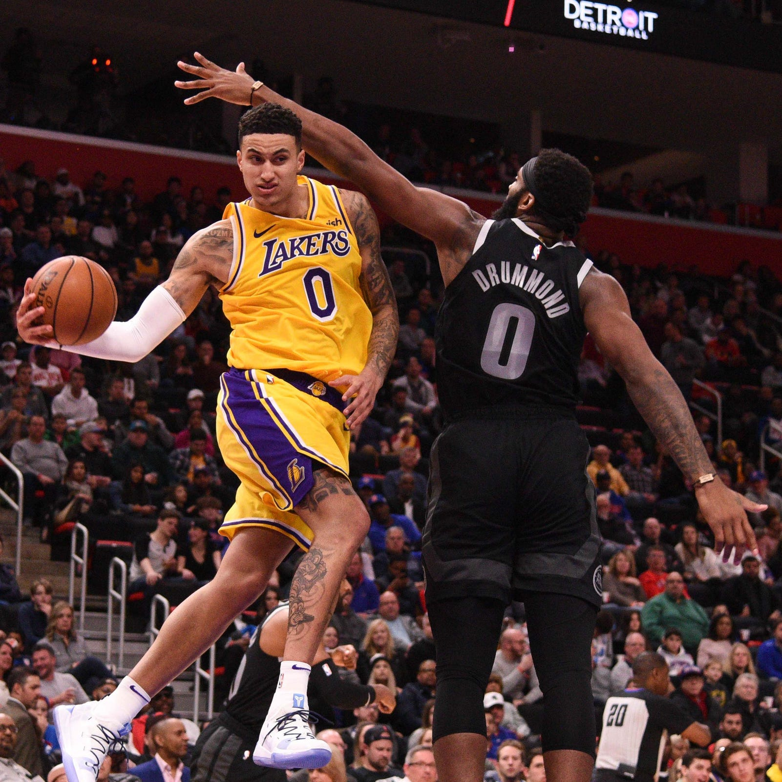 Game thread: Pistons get past Lakers, 111-97