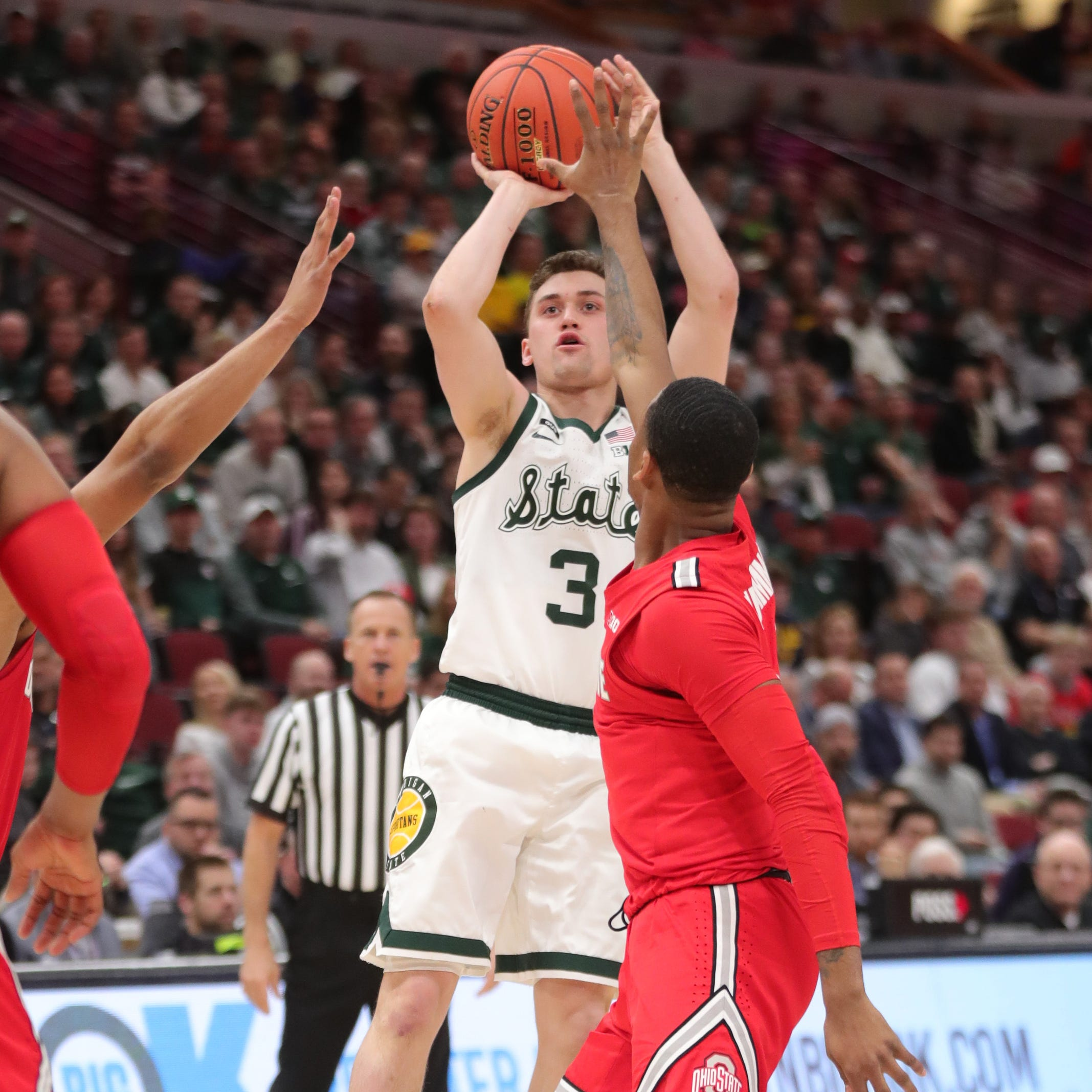 Michigan State's Foster Loyer looked like Mr. Basketball again. Finally