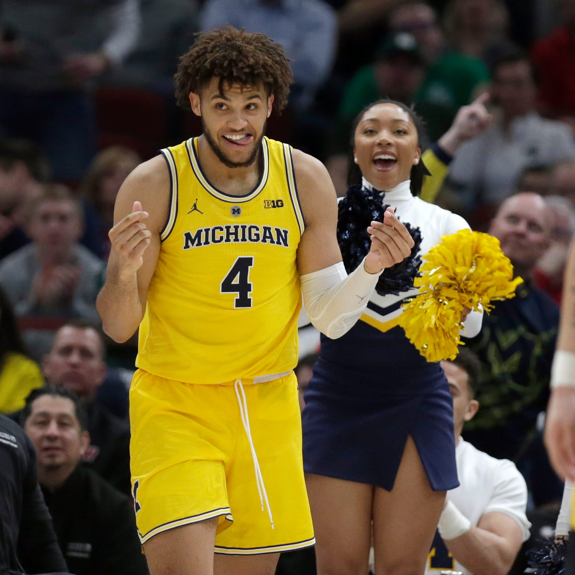 Michigan's Isaiah Livers reveals Midas touch in 21-point performance