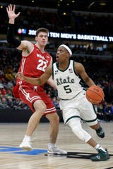 """Just another chance at a championship,"" says MSU guard Cassius Winston on playing Michigan in the Big Ten title game on Sunday (tip-off at 3:30 p.m.)."