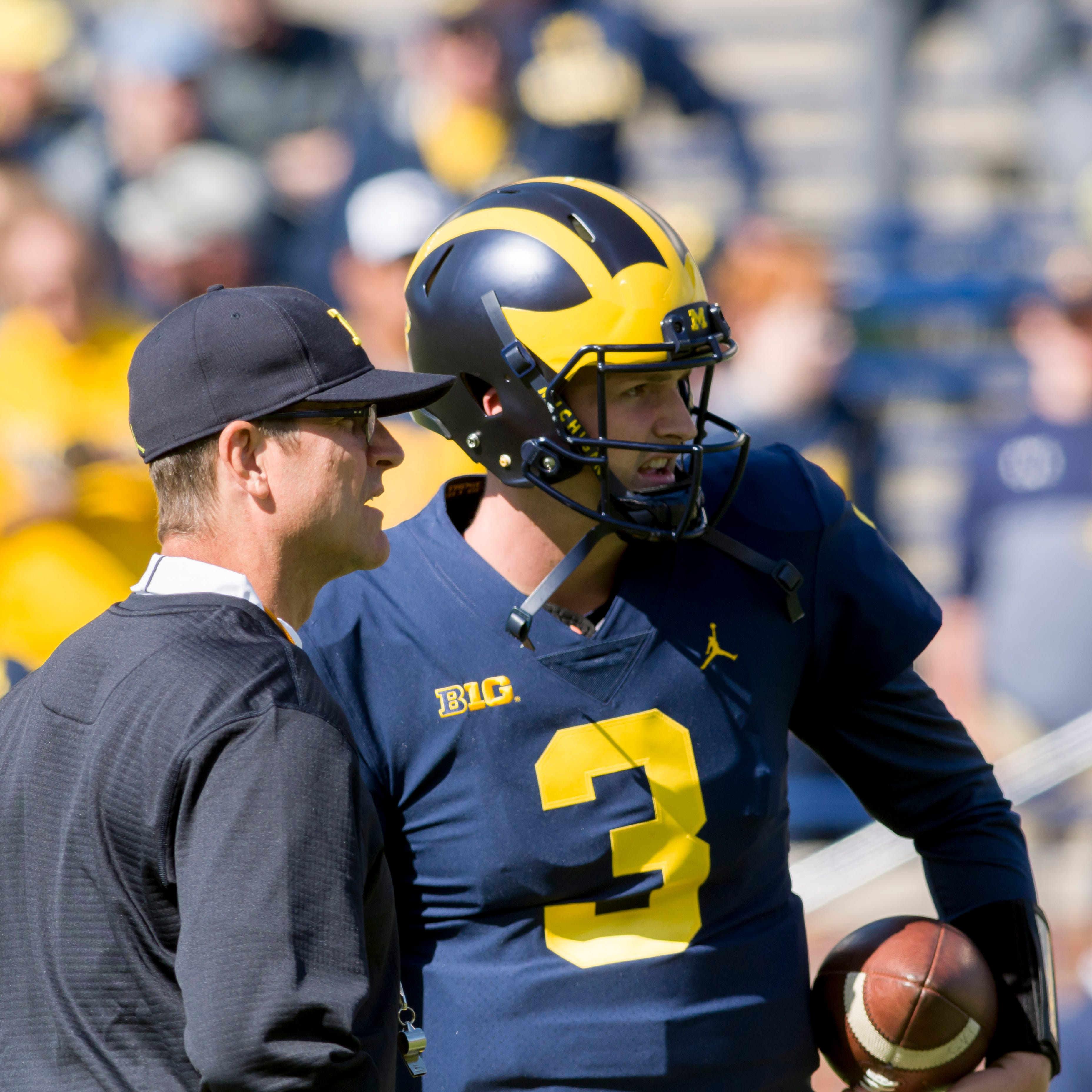 Wilton Speight has 'hill to climb' to NFL; no hard feelings for Michigan