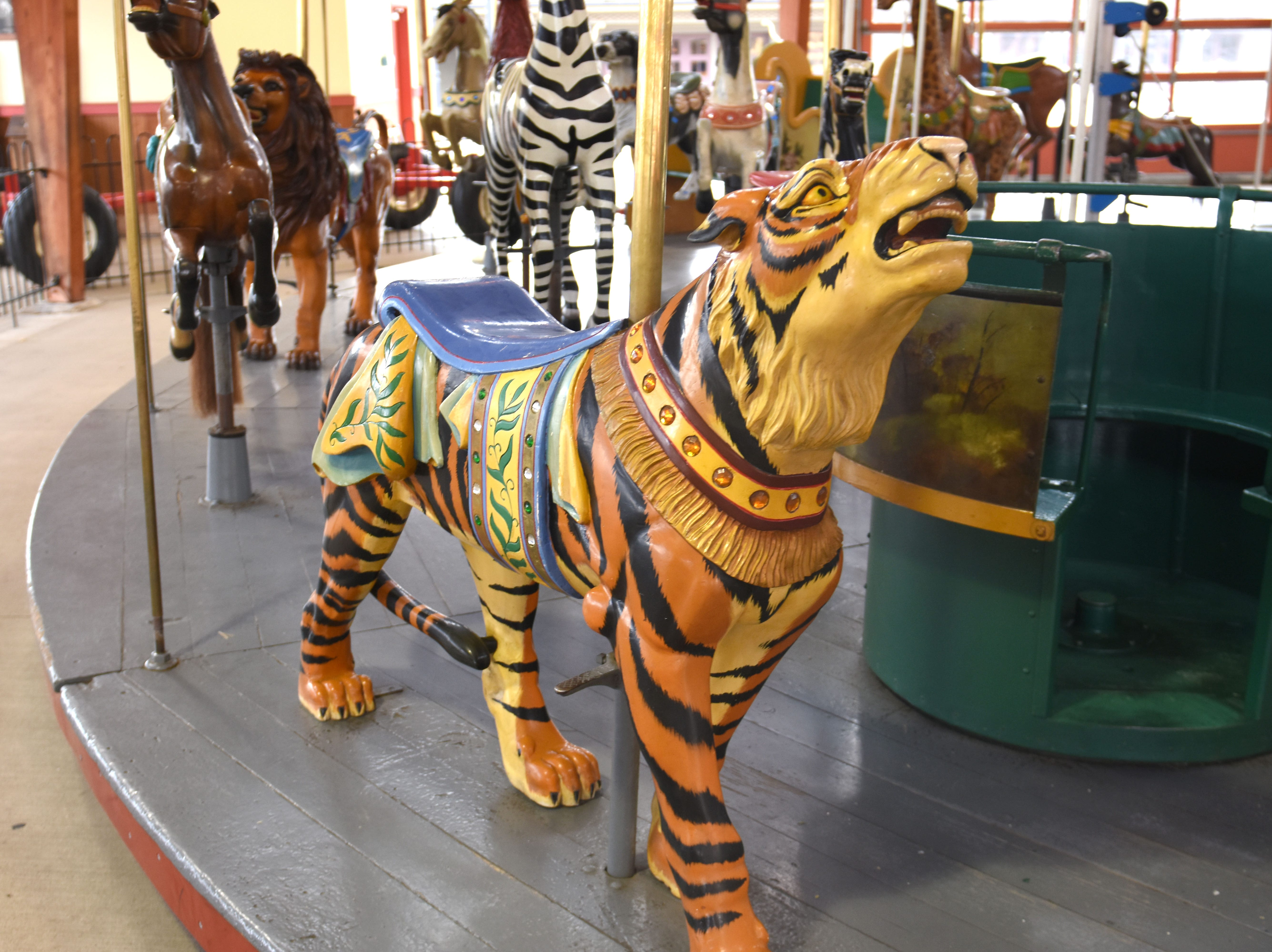 A tiger roars back to life at Greenfield Village in Dearborn