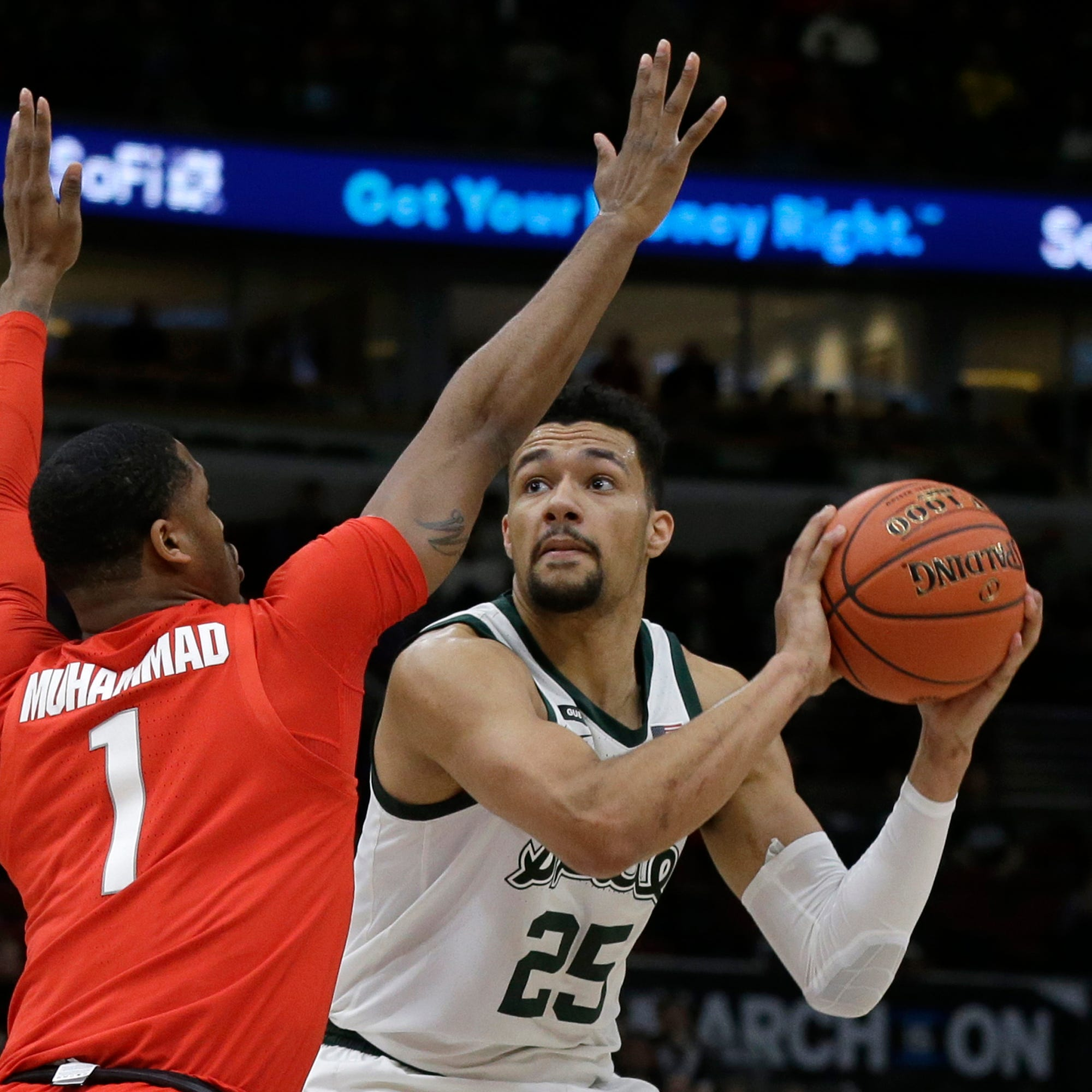 Live updates: Fast-paced game favoring MSU over WISC early on
