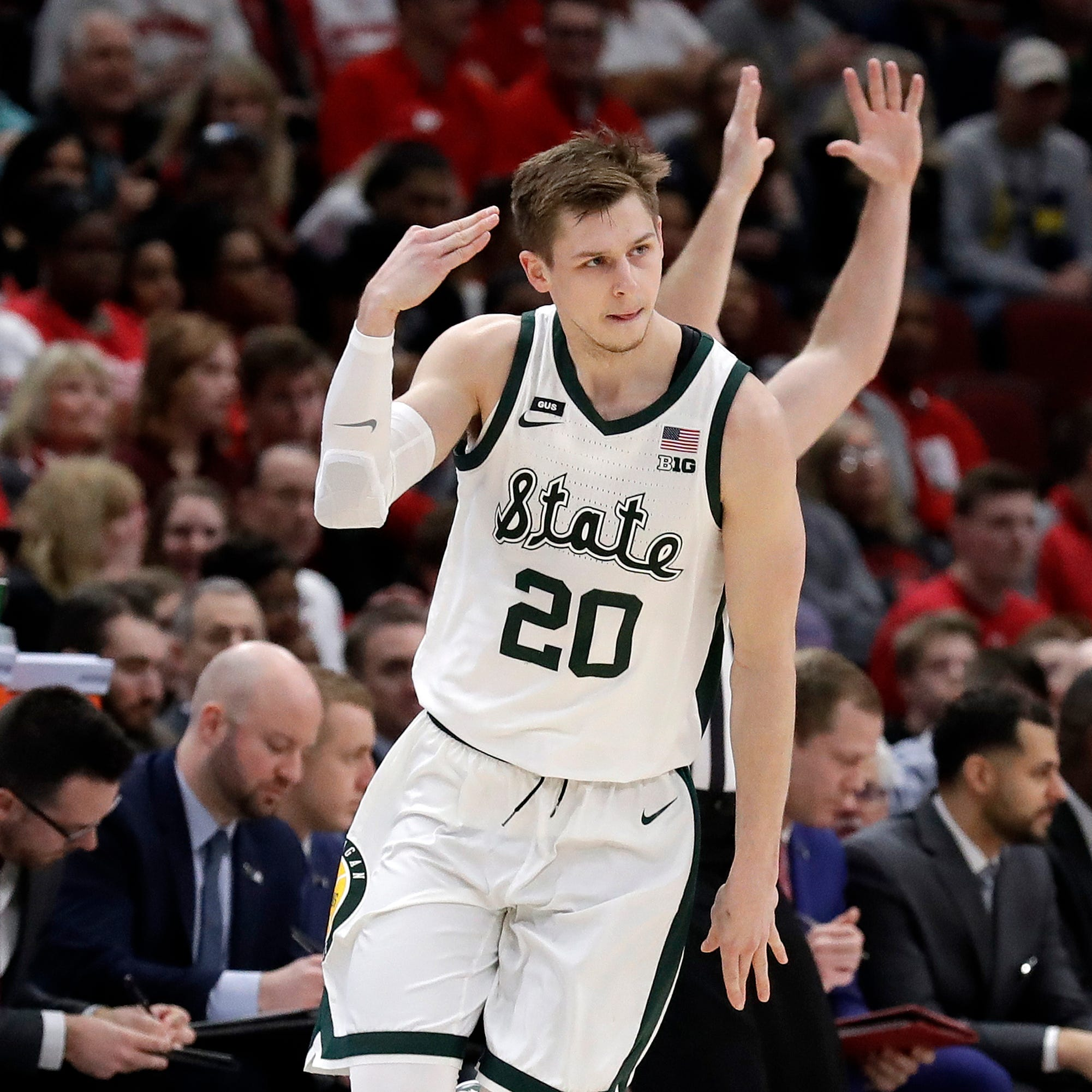 Recap: Michigan State dismantles Wisconsin, 67-55, in B10 semifinal