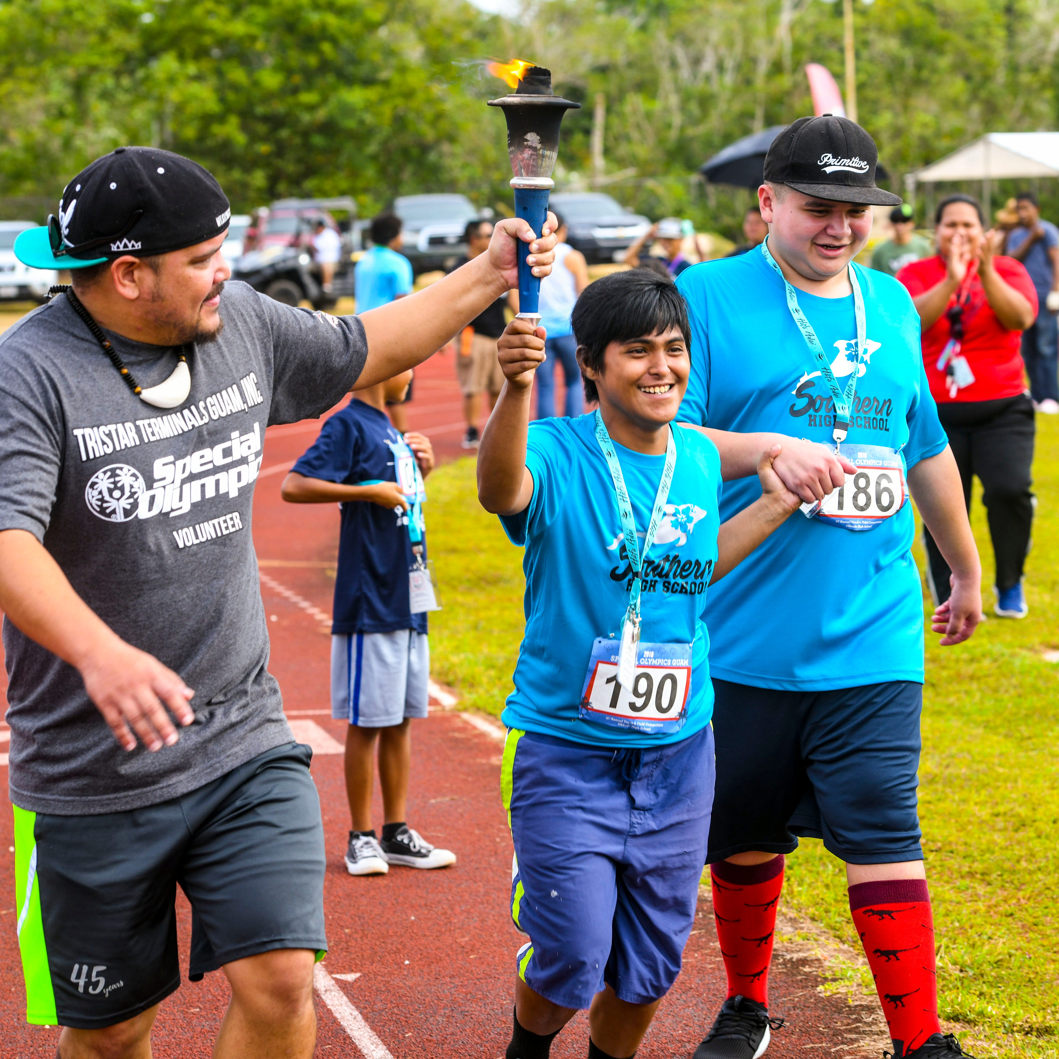 Special Olympics athletes have their day on the track