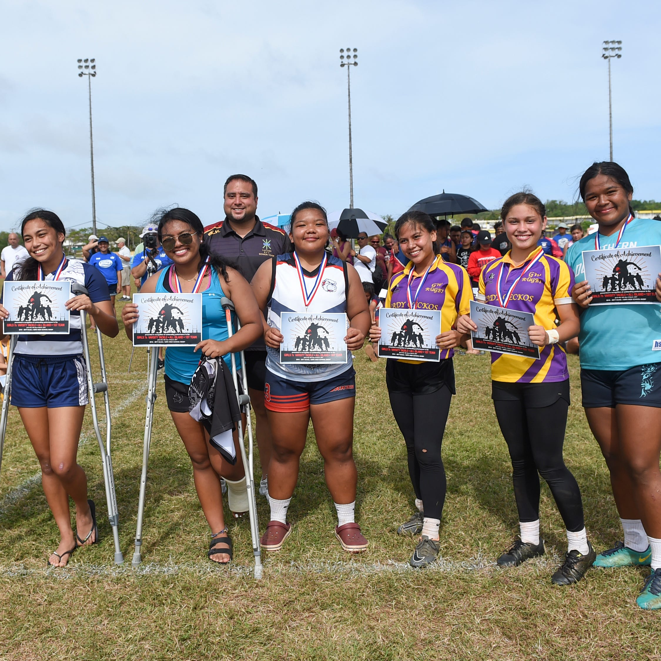 High school's best female rugby athletes honored as IIAAG/GRFU Players of the Year