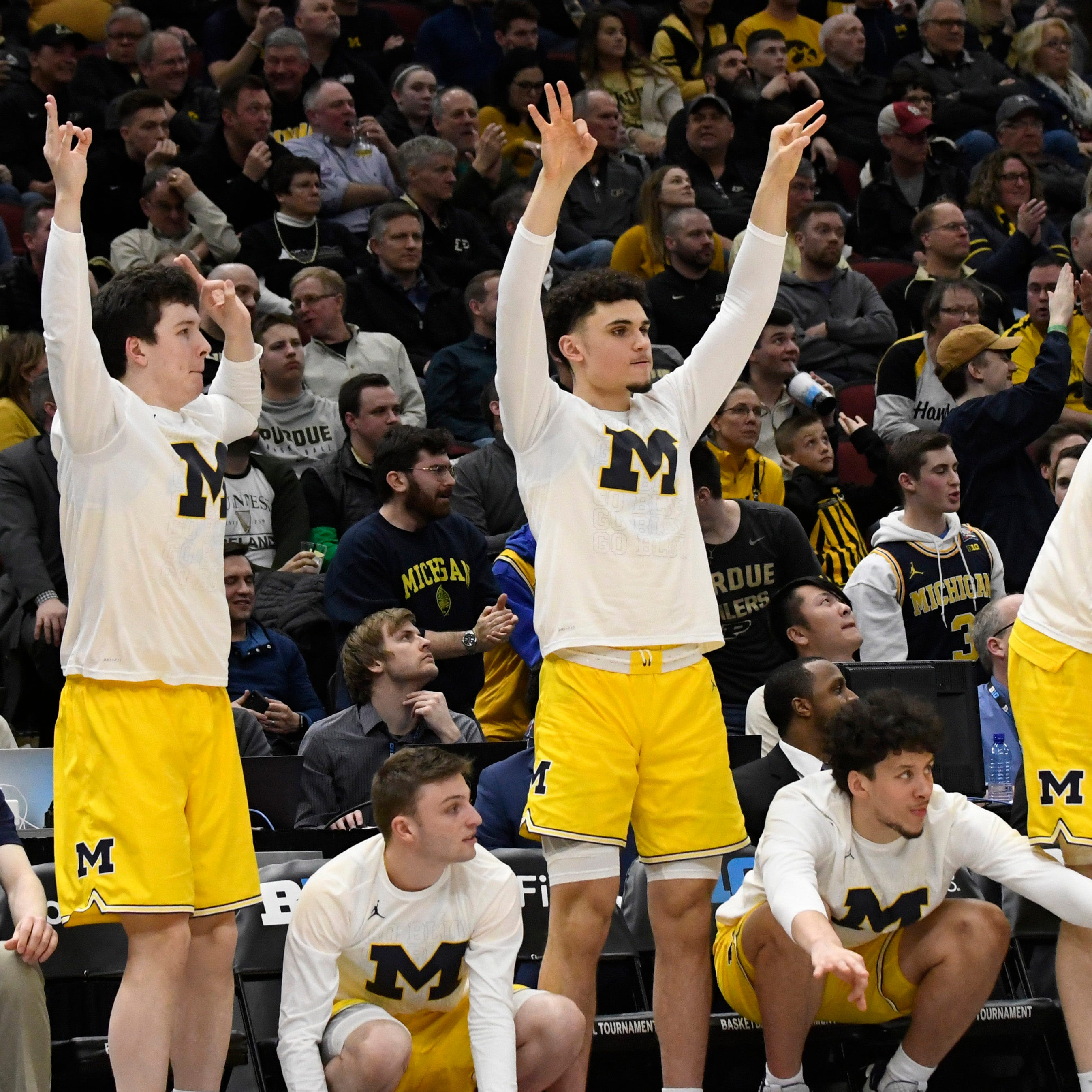 Michigan basketball shows it has wiped away pain of loss to MSU