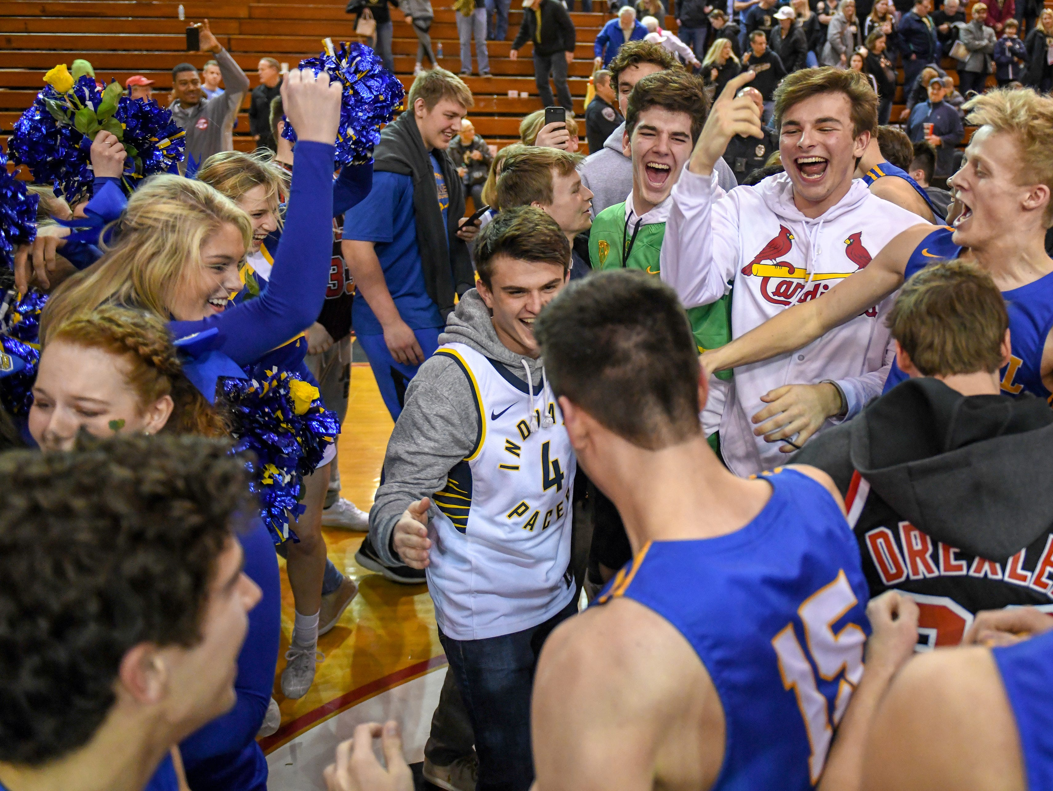 Carmel wins 71-42 win over Penn High School in Lafayette on Saturday March 16, 2019. Carmel moves on to the state finals after winning the 4A semi-state today.