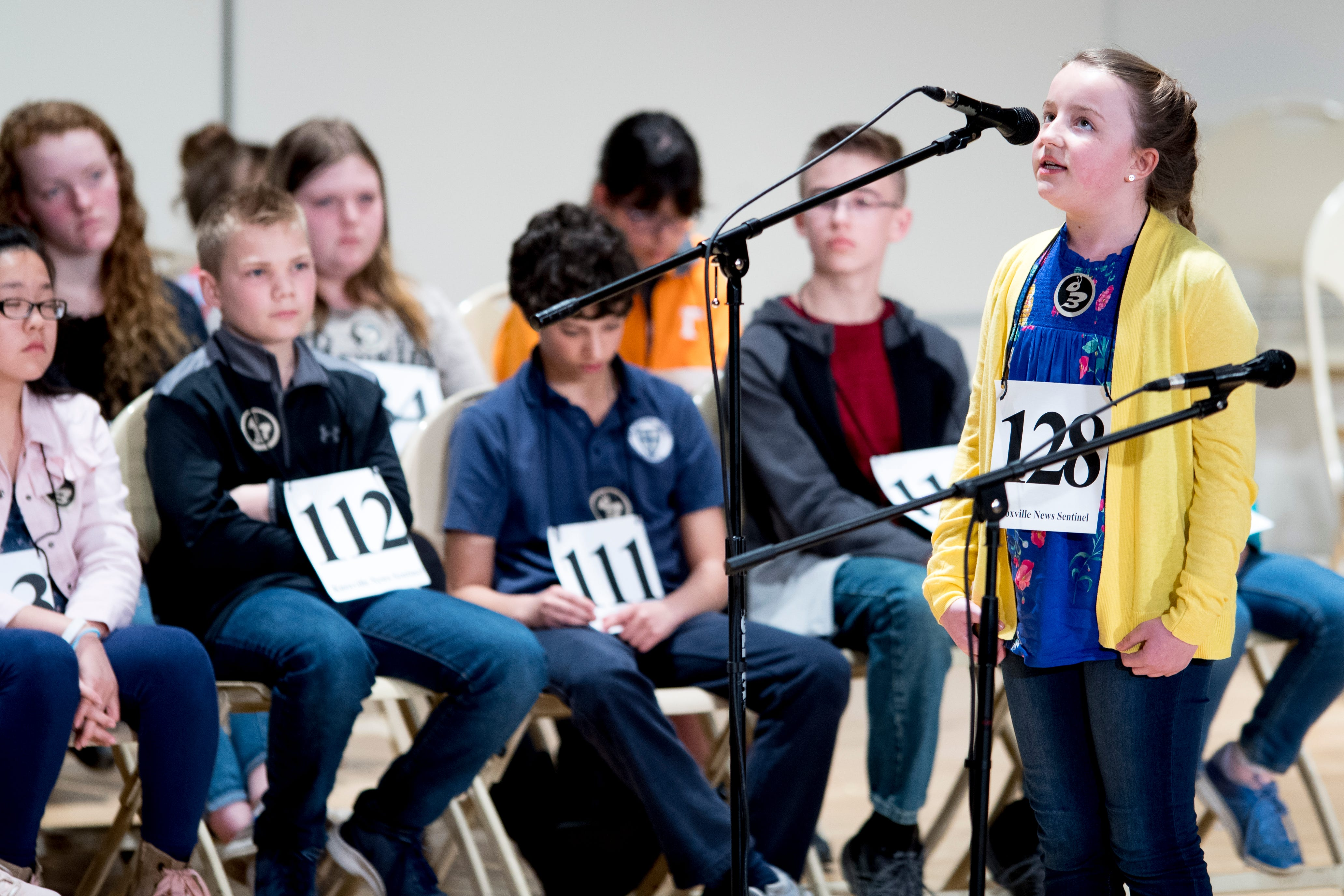 Final Round Of News Sentinel Spelling Bee