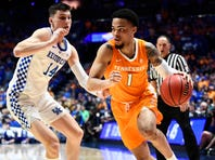 SEC Tournament: Lamonte Turner of Tennessee is hero vs Kentucky. Apologies accepted.