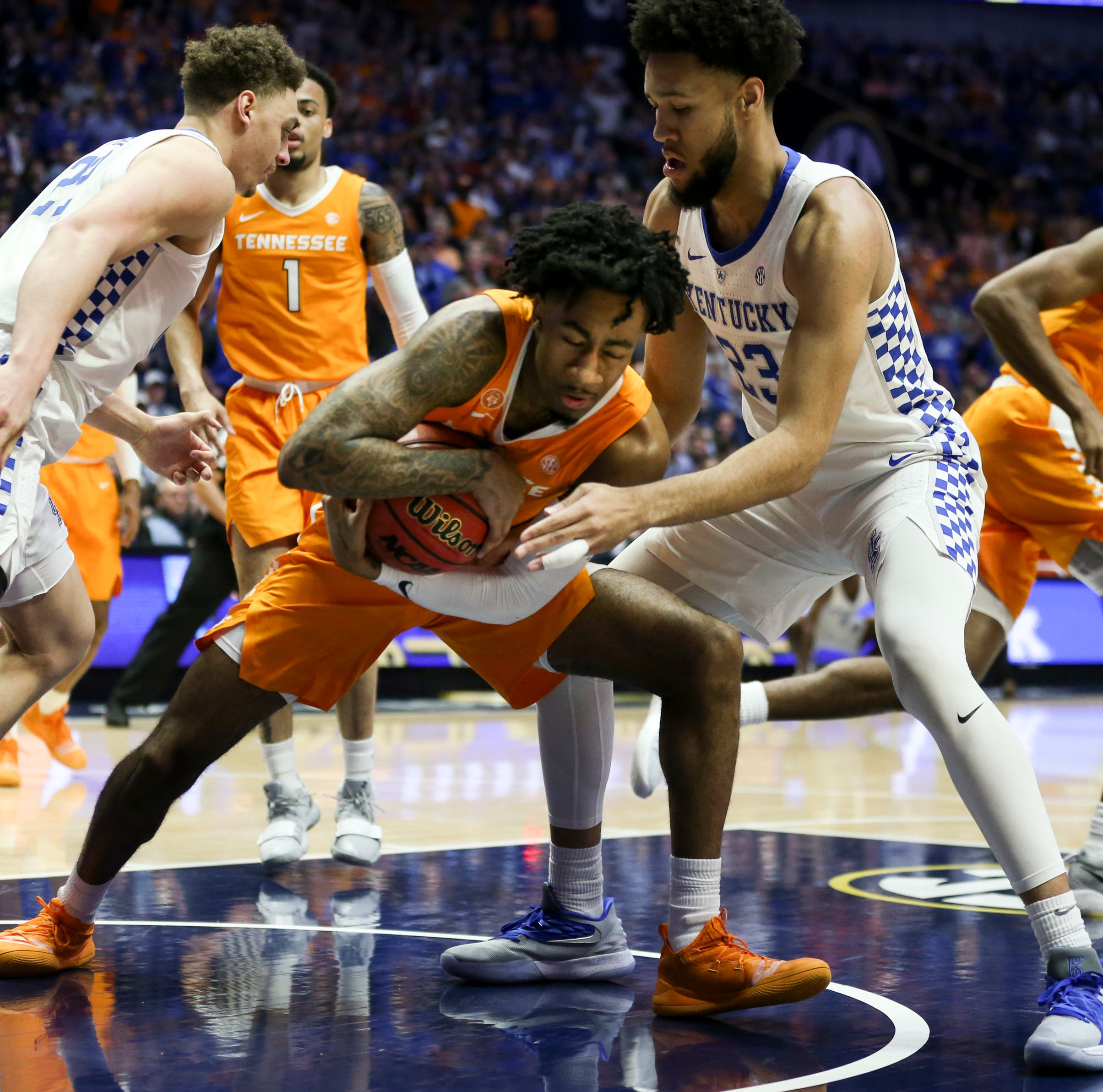 Kentucky eliminated by Tennessee in SEC Tournament semifinals