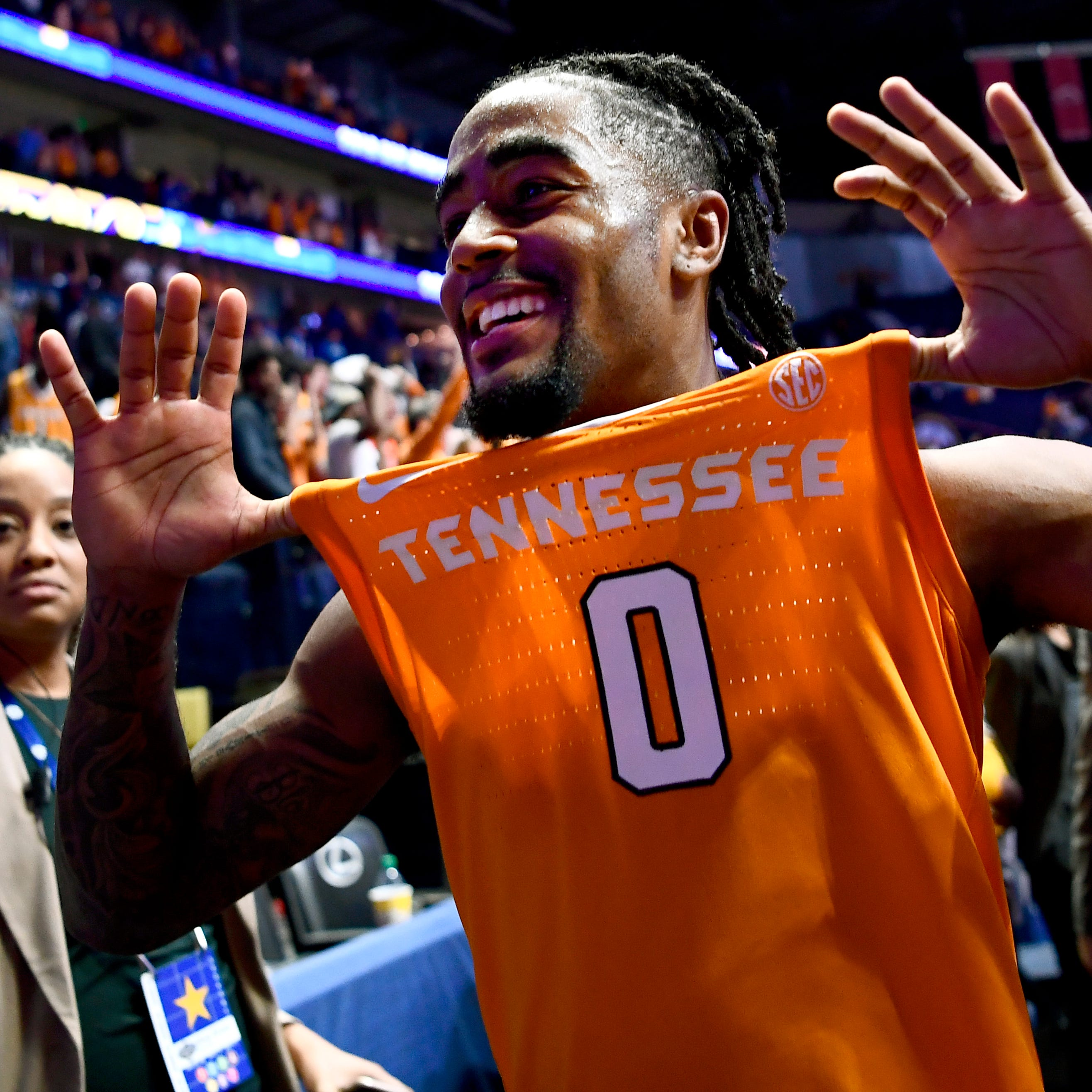 Tennessee basketball earns No. 2 seed in NCAA Tournament