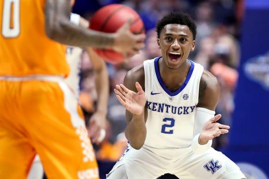 Kentucky guard Ashton Hagans also has a tough call ahead of the 2019 NBA Draft.