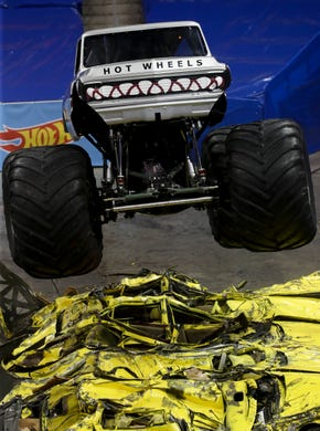 Monster Jam is bringing monster fun to Freedom Hall this weekend