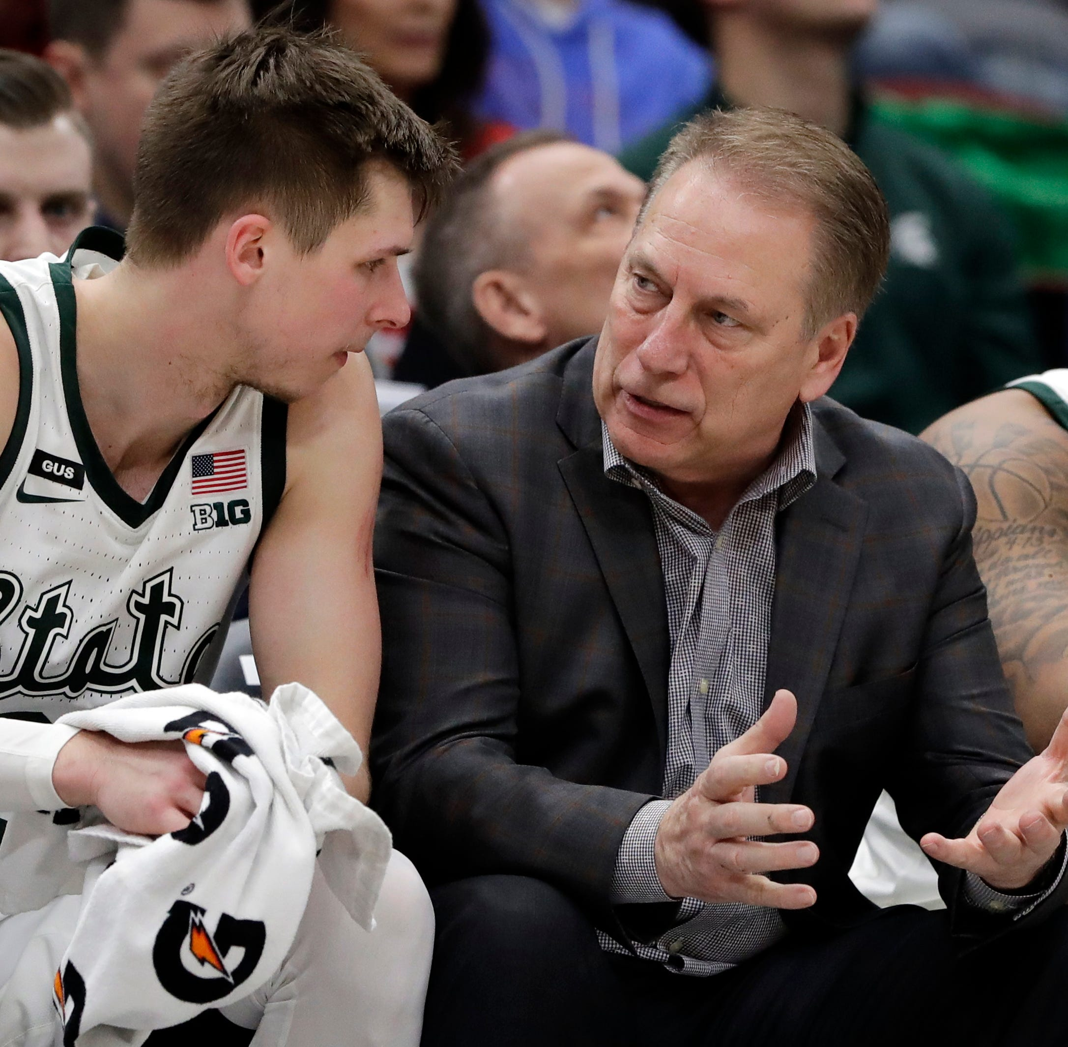 Tom Izzo couldn't buy Iron Mountain dinner. So Steve Mariucci did