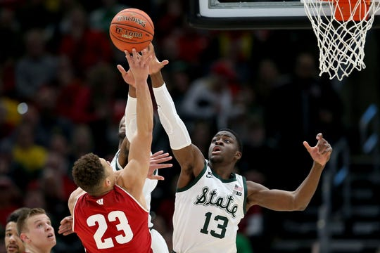 Gabe Brown's length can make him a defensive force — if he's in the right place.